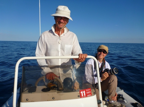 Researchers on the Water - SL